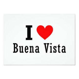 Buena Vista, Alabama City Design Custom Invites