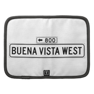 Buena Vista Ave. West, San Francisco Street Sign Organizers