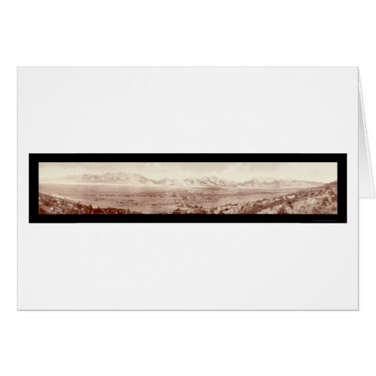 Buena Vista Range, CO Photo 1911 Card