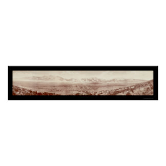 Buena Vista Range, CO Photo 1911 Poster