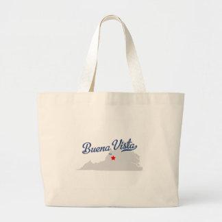 Buena Vista Virginia VA Shirt Canvas Bag
