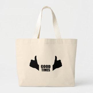 Buenas épocas bolsa de mano