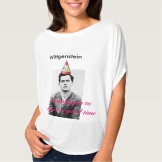 Buenas épocas Wittgenstein Playera