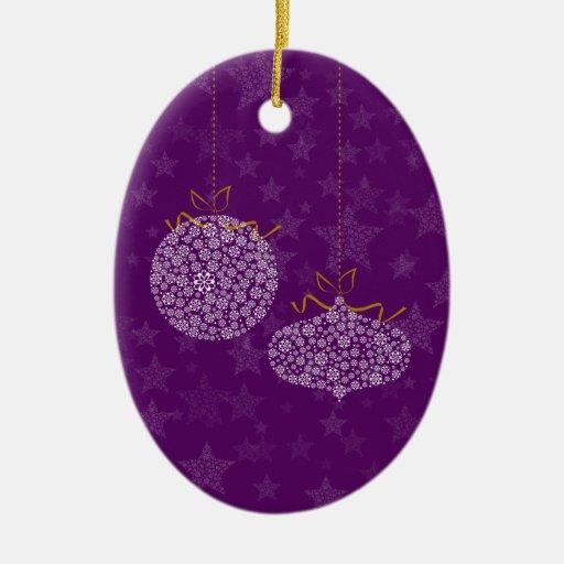 Buenas fiestas adorno navideño ovalado de cerámica
