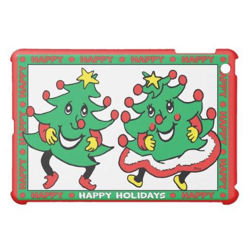 Buenas fiestas árboles de navidad divertidos del b