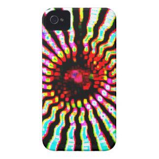 Buenas fiestas arte de la energía de la chispa carcasa para iPhone 4 de Case-Mate