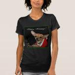 Buenas fiestas chihuahua camisetas