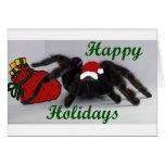 ¡Buenas fiestas! ¿… con un Tarantula? Felicitación