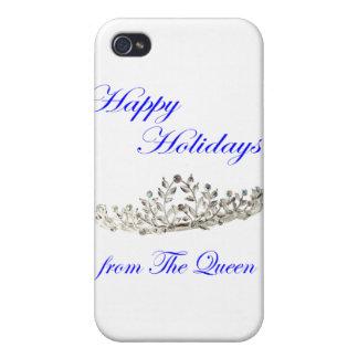 Buenas fiestas de la reina iPhone 4 funda