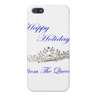 Buenas fiestas de la reina iPhone 5 fundas