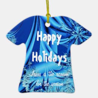 Buenas fiestas ornaments para arbol de navidad