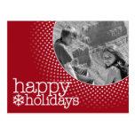 Buenas fiestas - foto del día de fiesta tarjeta postal