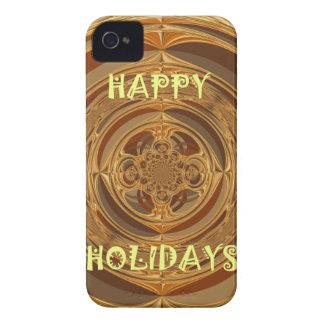 Buenas fiestas GIF estacional inconsútil de Hakuna iPhone 4 Protector