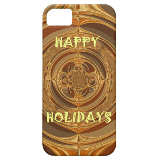 Buenas fiestas GIF estacional inconsútil de Hakuna iPhone 5 Carcasa