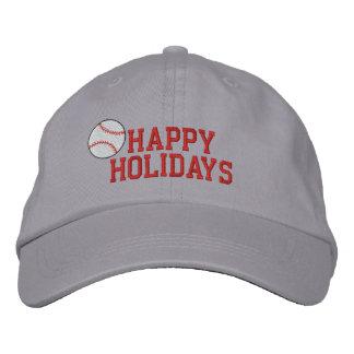 Buenas fiestas gorra bordado béisbol gorra de beisbol