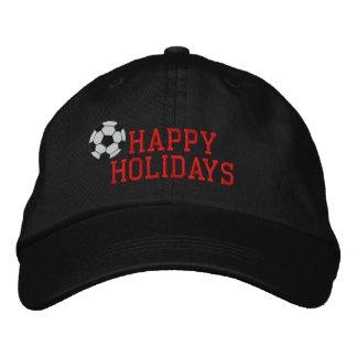 Buenas fiestas gorra bordado fútbol gorros bordados
