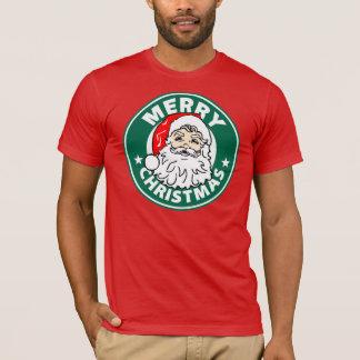 Buenas fiestas (guerra en navidad) camiseta roja
