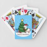 Buenas fiestas llama cartas de juego