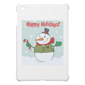 Buenas fiestas muñeco de nieve