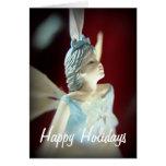 Buenas fiestas navidad de hadas tarjeta