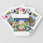 Buenas fiestas nueva gestión baraja cartas de poker