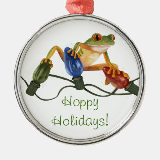 Buenas fiestas ornamento ornamento para arbol de navidad