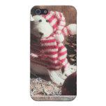 ¡Buenas fiestas oso! iPhone 5 Cárcasa