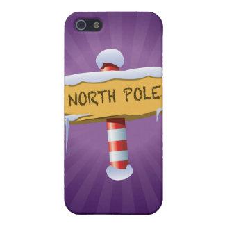 Buenas fiestas Polo Norte iPhone 5 Carcasas