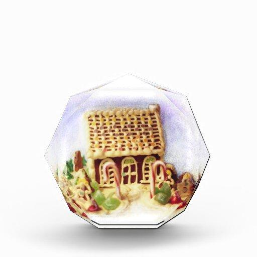 Buenas fiestas premio de la casa de pan de jengibr