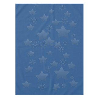 Buenas fiestas protagoniza el azul del regalo mantel