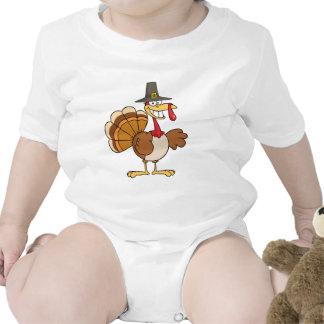 Buenas fiestas saludando con Turquía Trajes De Bebé