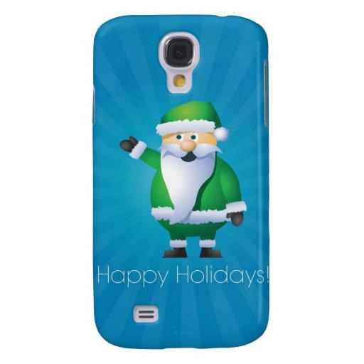 Buenas fiestas Santa Funda Para Galaxy S4