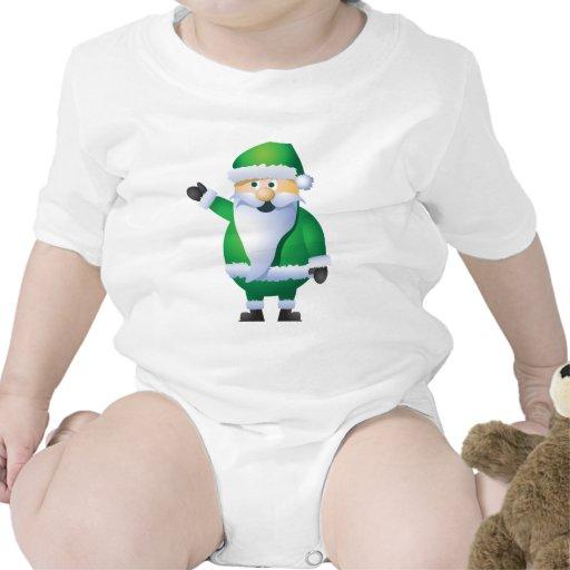 Buenas fiestas Santa Traje De Bebé
