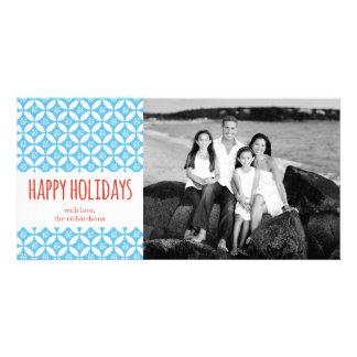Buenas fiestas tarjeta fotográfica personalizada