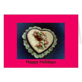 Buenas fiestas tarjeta de felicitación