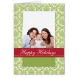 Buenas fiestas tarjeta de imagen de /Baby de la fa