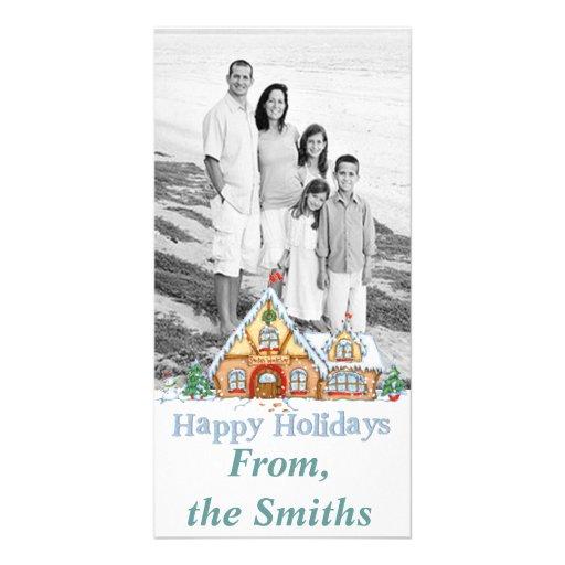 Buenas fiestas tarjeta de la foto tarjetas fotográficas personalizadas