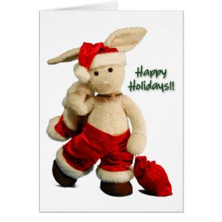Buenas fiestas tarjeta de Navidad 3