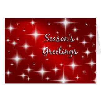 Buenas fiestas - tarjeta de Navidad retra de las e