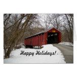 Buenas fiestas tarjeta del puente, #2