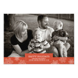 Buenas fiestas tarjeta el | el | plano 5x7 del anuncios
