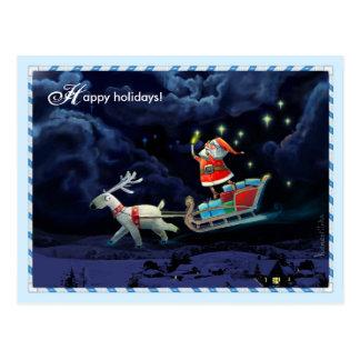 Buenas fiestas postales