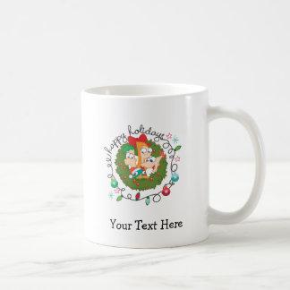 Buenas fiestas taza