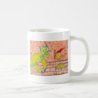Buenas fiestas taza de café