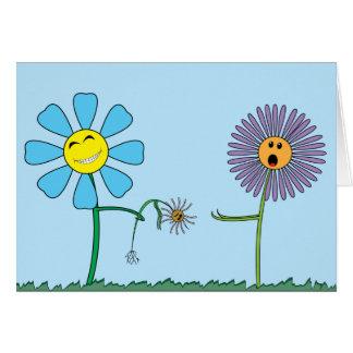Buenas intenciones tarjeta de felicitación