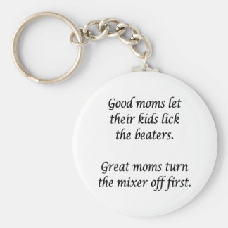 Buenas mamáes llavero redondo tipo pin