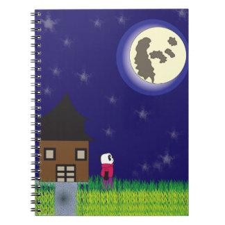 Buenas noches cuaderno de la panda