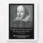 ¡Buenas noches del ~ de la cita de Shakespeare, bu Alfombrillas De Ratón
