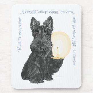 Buenas noches escocés Terrier Alfombrilla De Ratón