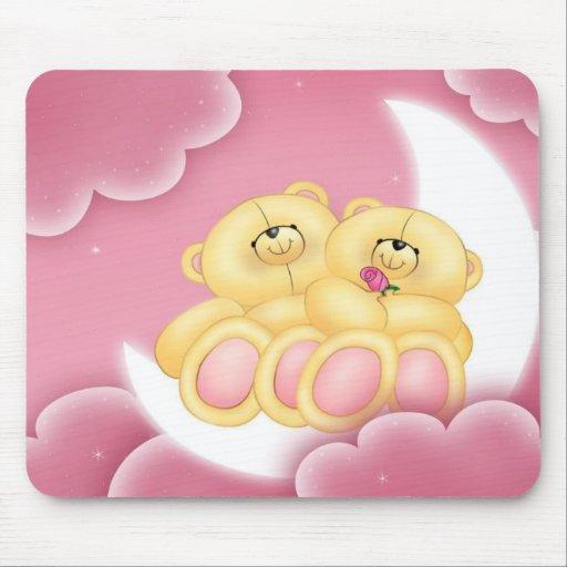 ¡Buenas noches osos! Mousepad Alfombrilla De Raton